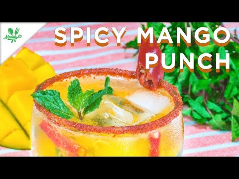 Resep Spicy Mango Puch