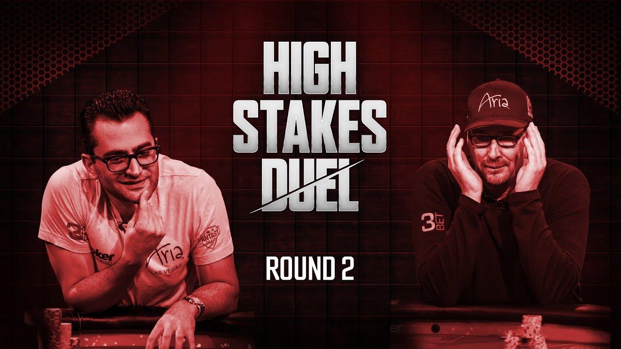High Stakes Duel | Round 2 | Phil Hellmuth vs Antonio Esfandiari