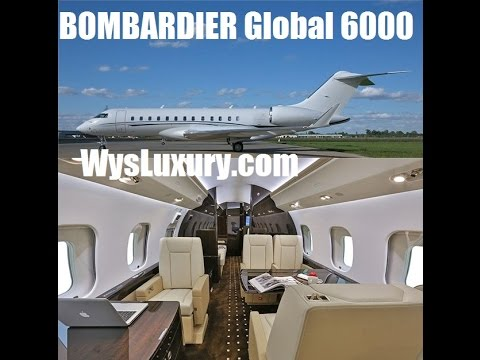 2015 glex Bombardier global 6000 Luxury Interior Private Plane Jet Aircraft Charter Flight Service