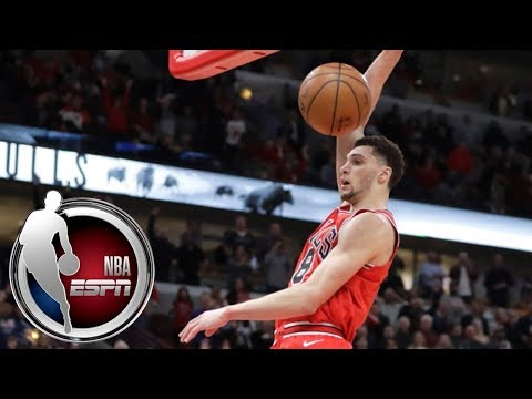 Zach LaVine wins game for Bulls with a clutch steal and dunk | ESPN