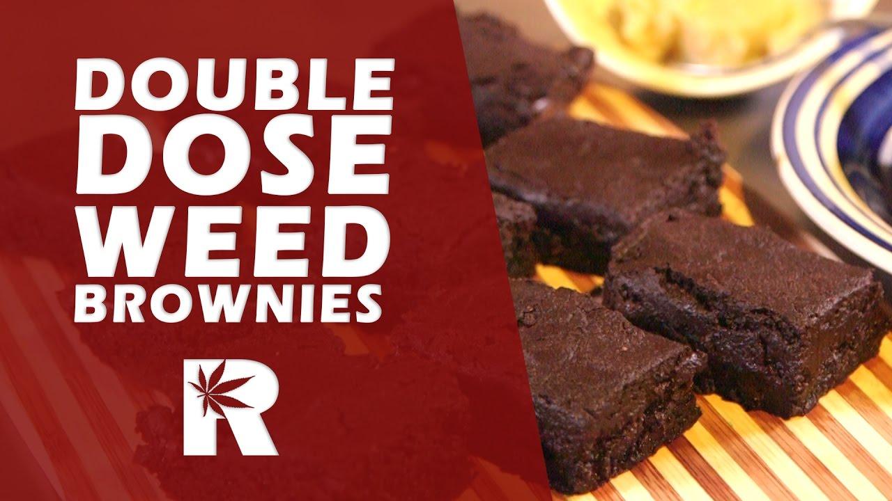 Double Dose Chocolate Marijuana Brownies (Strong Weed Brownies): Cannabasics #48