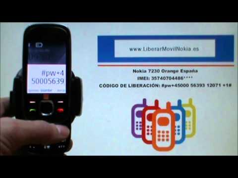 Liberar Nokia 7230 Orange