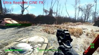 Лучший мод , улучшение графики Ultra Realistic CiNE FX ДЛЯ Fallout 4