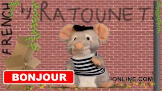 "Basic French: RATOUNET sings ""bonjour"""