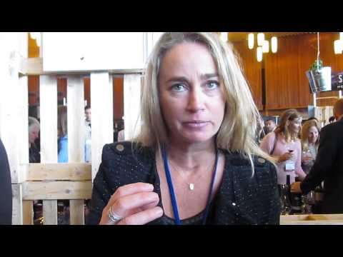 Sarah MacMahon from Kaesler at Vancouver International Wine Fest 2015