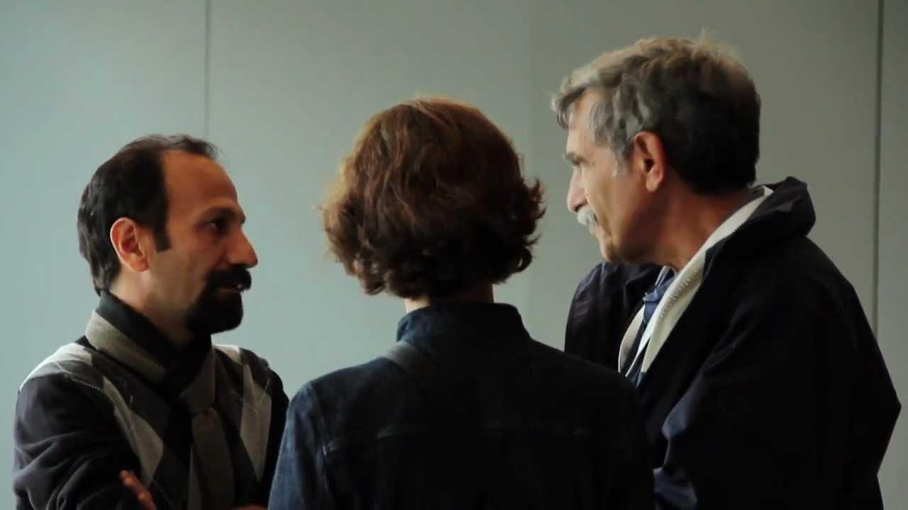 Asghar Farhadi at the 49th New York Film Festival