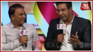 Wasim Akram And Sunil Gavaskar Talk About The Best Moments In Their Career | Salaam Cricket 2018