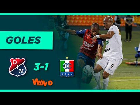 Independiente Medellín vs. Once Caldas (3-1)   Liga BetPlay Dimayor 2021-II Fecha 10