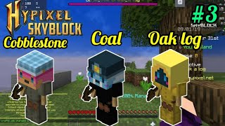I got one more minion 😊| Hypixel skyblock part 3