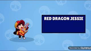 Unlocking Red Dragon Jessie Brawl Stars