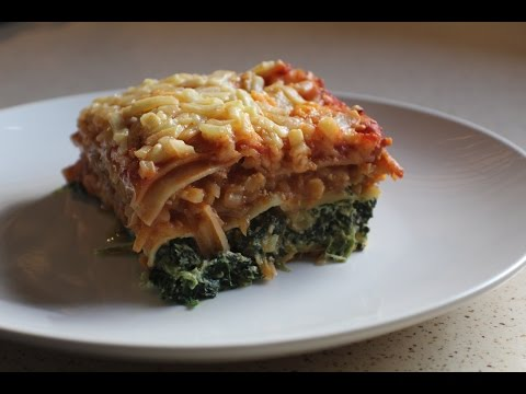 Lasagna With Lentil , Spinach & Ricotta (Easy Meals)