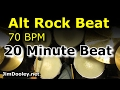 Download 20 Minute Backing Track - Alternative Rock Beat 70 BPM MP3 song and Music Video