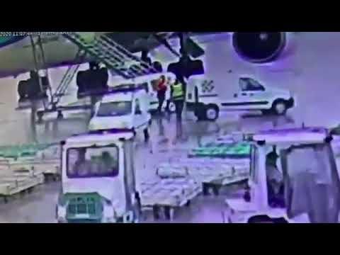 Así subieron los 84 kilos de cocaína a un avión en Ezeiza