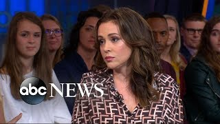 Alyssa Milano reflects on #MeToo movement one year later