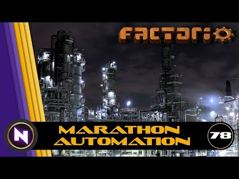 Factorio - Marathon Automation - E78 - Crazy Coal Cracking