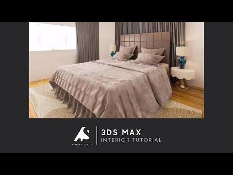 3D Max Interior Design Tutorial Vray+Photoshop Modeling