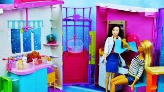 Barbie • Weterynarz & Lecznica dla zwierząt • Unboxing