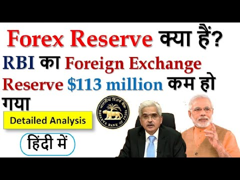 What Is Foreign Exchange Reserve? India's Forex Reserve Falls By $113 Million | Current Affairs 2020