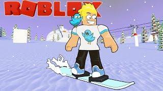 Breaking My Bones en la estación de esquí Roblox / Gamer Chad Plays