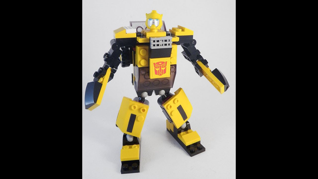 jouet kre o transformers basic bumblebee lego transformers jouets pour les enfants youtube. Black Bedroom Furniture Sets. Home Design Ideas