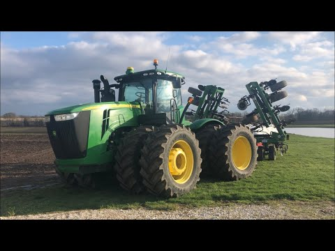Equipment Tour Part One- Tractors And Combines And A Bad Intro