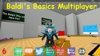 Baldi's Basics Multiplayer # 06 (Roblox Map)