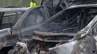 Six dead, 16 Injured in South China Highway Pileup