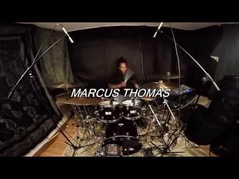Usher | you don't have to call | drum and bass cover by marcus thomas and davi carvalho