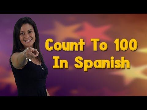 Learning Spanish | Counting In Spanish 1-100 | Count to 100