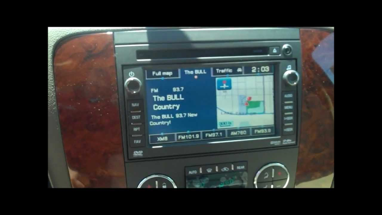 How To Use Dvd System In Your New Chevy Tahoe Suburban Traverse 2015 Oil Filter Location Silverado Youtube