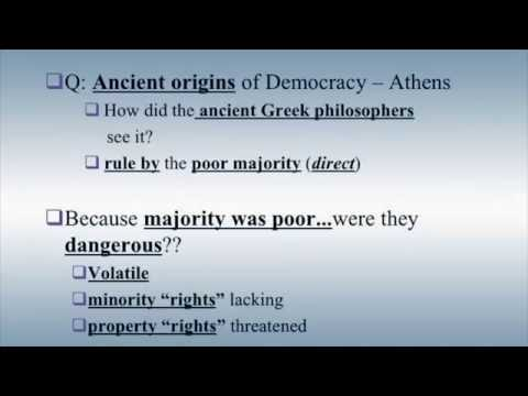 Democracy 1, Introduction to Ancient Greek Democracy