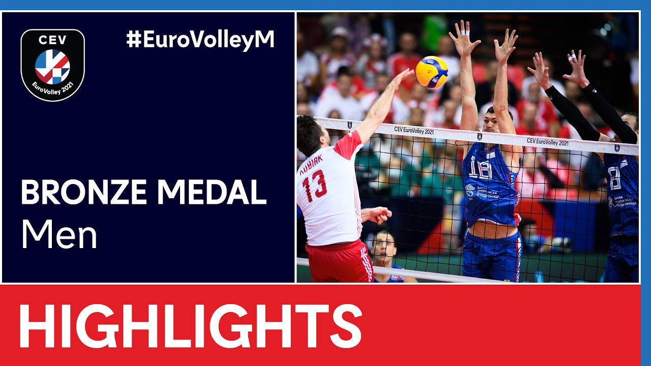 Poland vs. Serbia Highlights - #EuroVolleyM