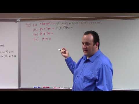 Abstract Algebra II: representation vs module, opposite ring, 3-30-18