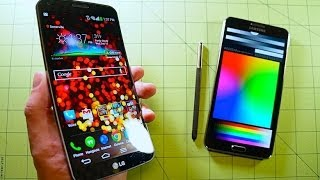 LG G Flex vs Note 3