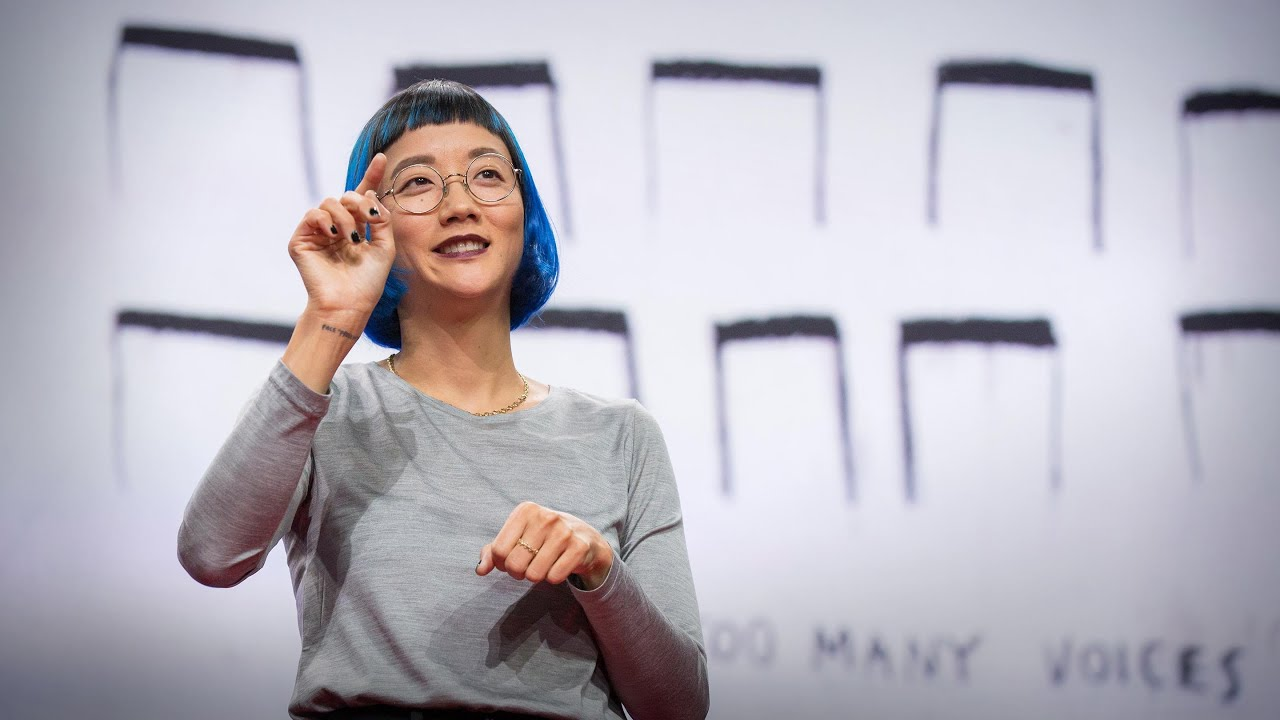 The enchanting music of sign language | Christine Sun Kim