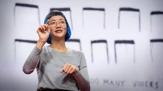 The Enchanting Music of Sign Language | Christine Sun Kim | TED Talks(Artist Christine Sun Kim was born deaf, and she was taught to believe that sound wasn't a part of her life, that it was a hearing person's thing. Through her art ..., 2015-11-19T17:27:46.000Z)