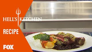 Chef Christina Wilson prepares the Hell's Kitchen classic, Herb Cru...