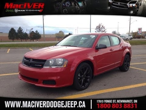 2014 Dodge Avenger Se Black Top Maciver Dodge Jeep