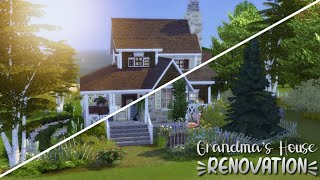 Grandma's House Renovation 👵🏽🏡// The Sims 4 Speed Build | Beeley Renovates (no cc)
