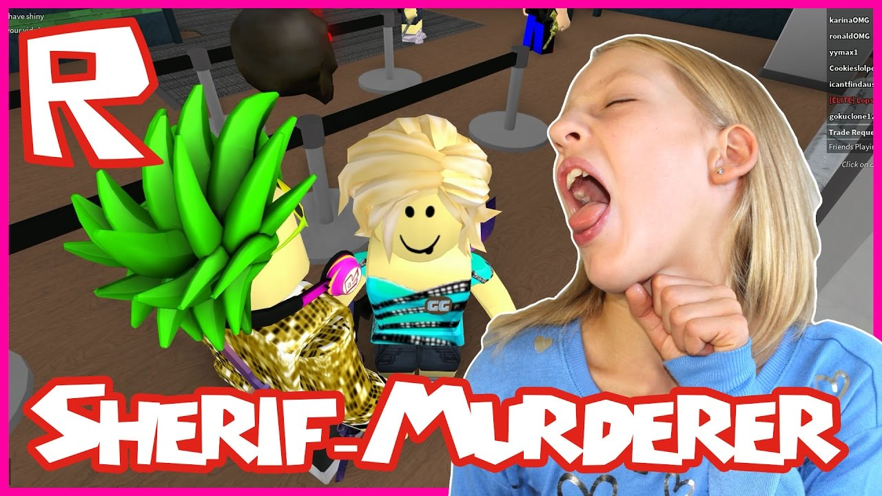 Ronaldomg Roblox Murderer Mystery 2 With Karina Roblox Murder Mystery Sherif Murderer All Over The Place Youtube