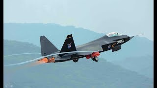 Shenyang J-31 Stealth Fighter takeoff 2018