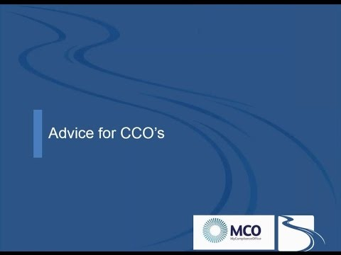 Advice on dealing with Insider Trading for Compliance Officers from MCO