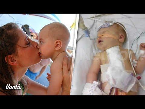 Tia besó a su sobrino en la boca y el bebé muere 2 semanas después