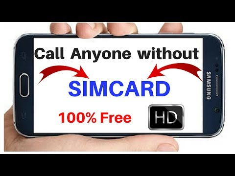 How to Call Someone without simcard - Unlimited Free Calls - Real