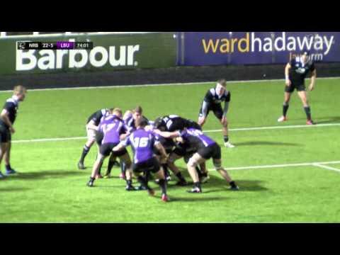 BUCS Super Rugby: Northumbria v Leeds Beckett HIGHLIGHTS | Round 13, 10 Feb 2017