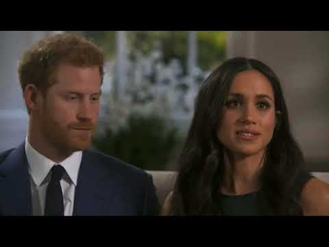 Prince Harry and Meghan Markle's first joint interview