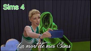 Sims 4 - La Mort de mes Sims