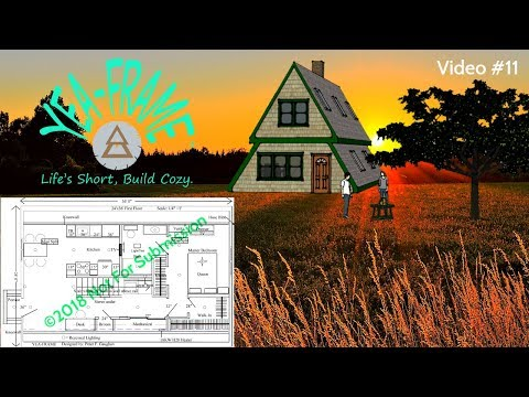 diy-build-this-2-bedroom-small-a-frame-house-|-floor-plans-|-off-grid