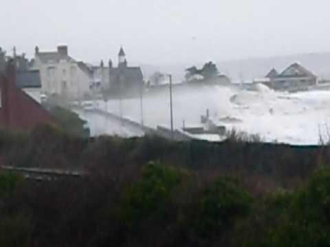llanfairfechan flooding march 2010 (2)