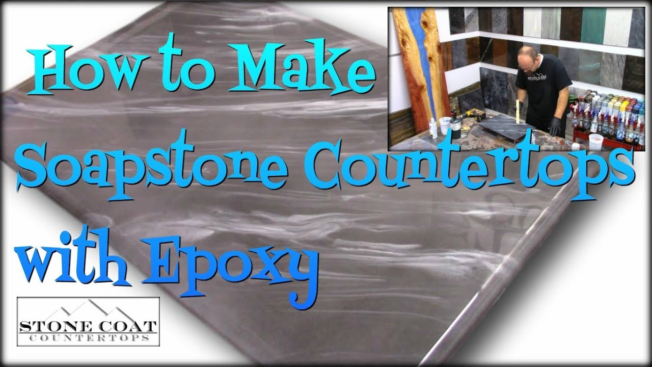 Download Make SoapStone Countertops using Epoxy!